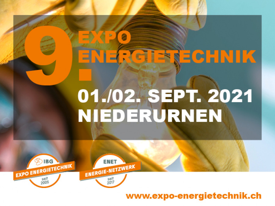 9. EXPO Energietechnik 2021, Niederurnen