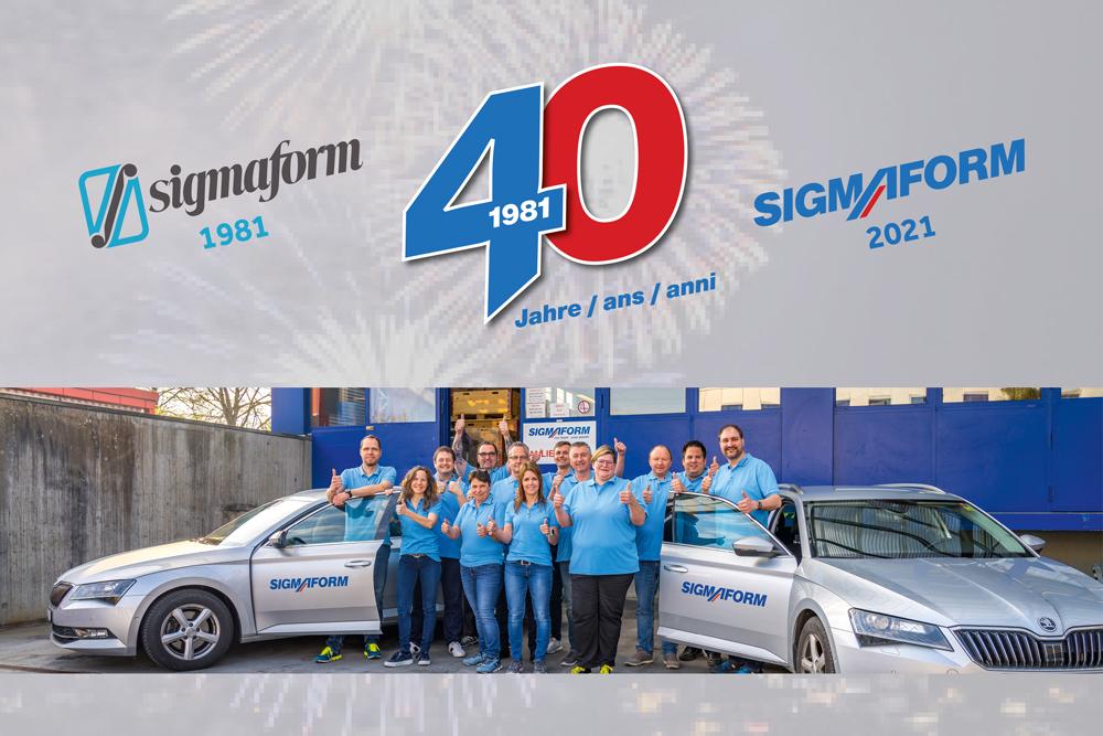 Wir feiern unser 40-jähriges Firmen-Jubiläum